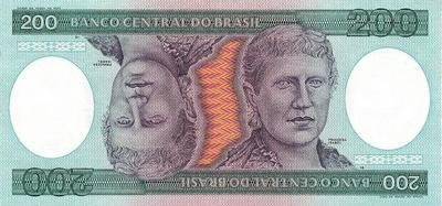 200 крузейро 1981-1984 Бразилия.
