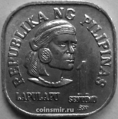 1 сентимо 1982 BSP Филиппины.