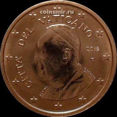 5 евроцентов 2015 Ватикан.