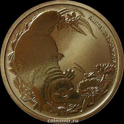 1 доллар 2013 Австралия. Австралийский утконос.