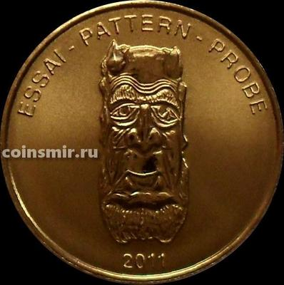 10 евроцентов 2011 Литва. Европроба. Xeros-ceros.