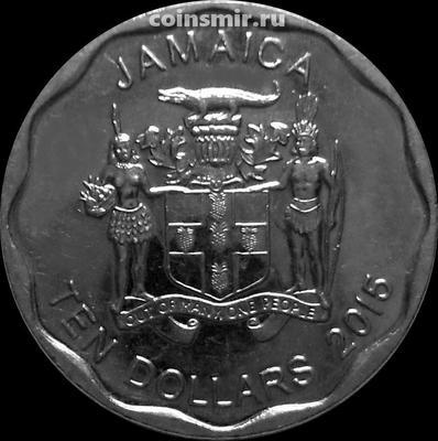 10 долларов 2015 Ямайка.
