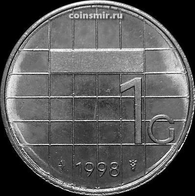 1 гульден 1998 Нидерланды.