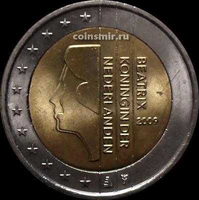 2 евро 2009 Нидерланды. Регулярный чекан.