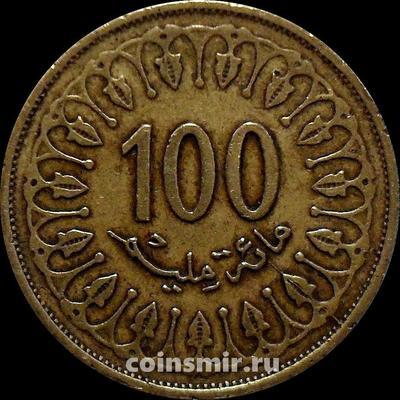 100 миллим 2013 Тунис.
