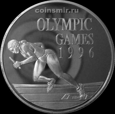 10 долларов 1996 Ямайка. Олимпиада в Атланте 1996.