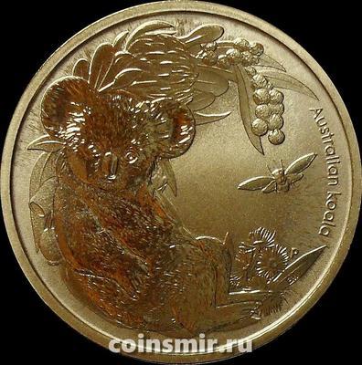 1 доллар 2011 Австралия. Коала.