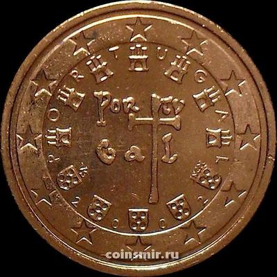 2 евроцента 2002 Португалия.