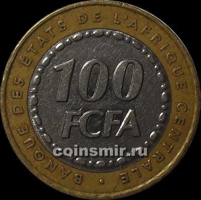 100 франков 2006  КФА BEAC (Центральная Африка).