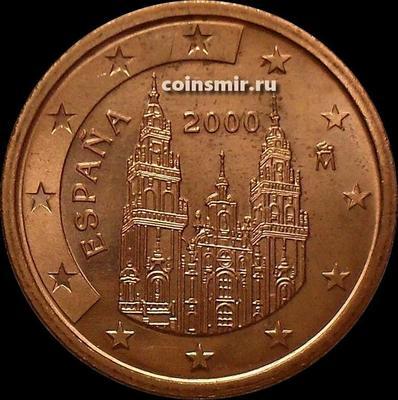 5 евроцентов 2000 Испания. UNC