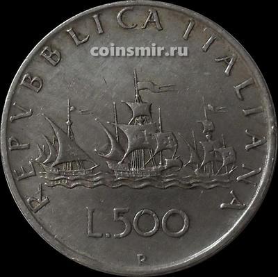 500 лир 1959 Италия.