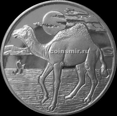 1 доллар 2006 Сьерра-Леоне. Верблюд.