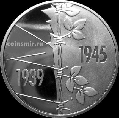 5 гривен 2020 Украина. 75 лет Победы над нацизмом во Второй мировой войне.