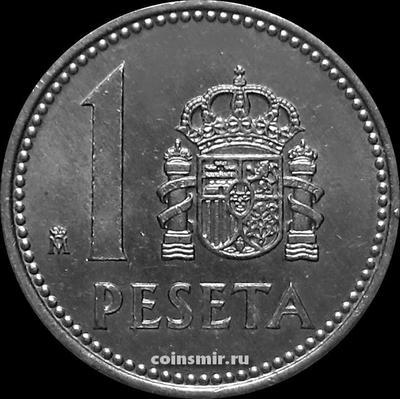 1 песета 1983 Испания.