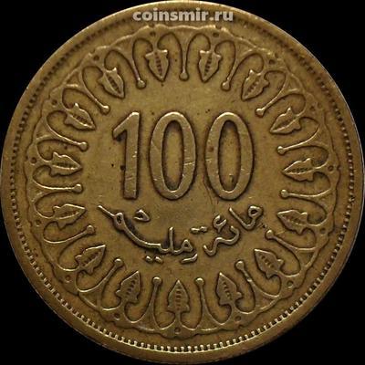100 миллим 2005 Тунис.