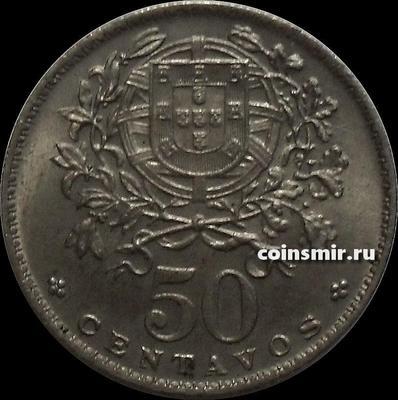50 сентаво 1958 Португалия.