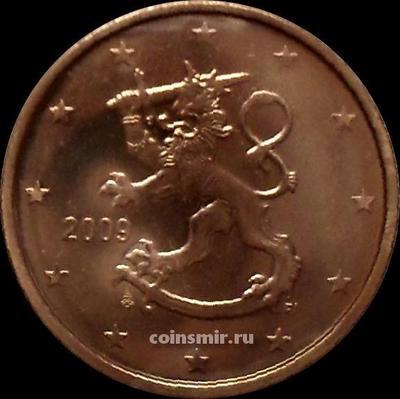 2 евроцента 2009 Финляндия.
