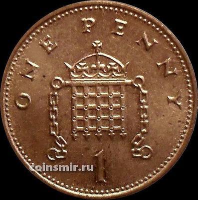 1 пенни 1999 Великобритания.