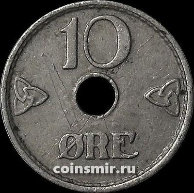 10 эре 1937 Норвегия.