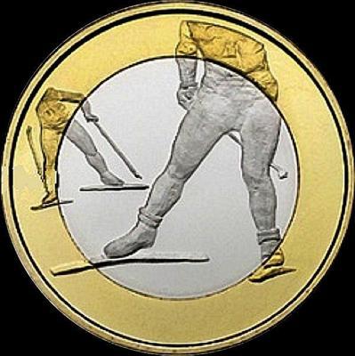 5 евро 2015 Финляндия. Лыжные гонки.