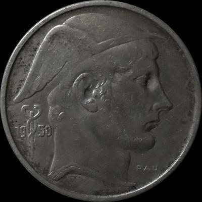 50 франков 1950 Бельгия. BELGIE.