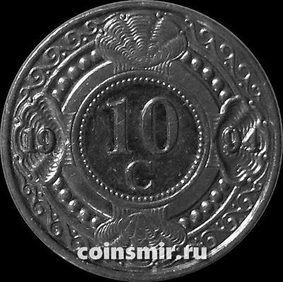 10 центов 1994 Нидерландские Антильские острова.