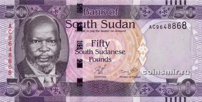 50 фунтов 2011 Южный Судан.