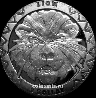 1 доллар 2019 Сьерра Леоне. Лев.