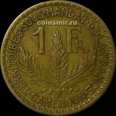 1 франк 1925 французский Камерун.