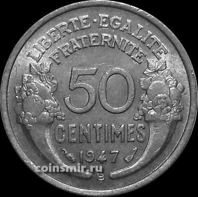50 сантимов 1947 В Франция.