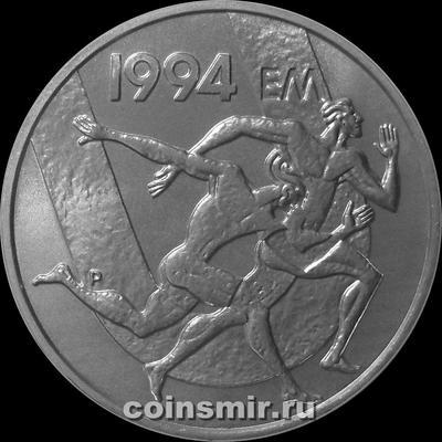100 марок 1994 Финляндия. Чемпионат Европы по лёгкой атлетике 1994.