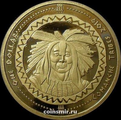 1 доллар 2019 племя Команчи.