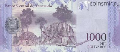 1000 боливаров 2016 Венесуэла.