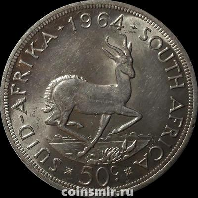 50 центов 1964 Южная Африка.