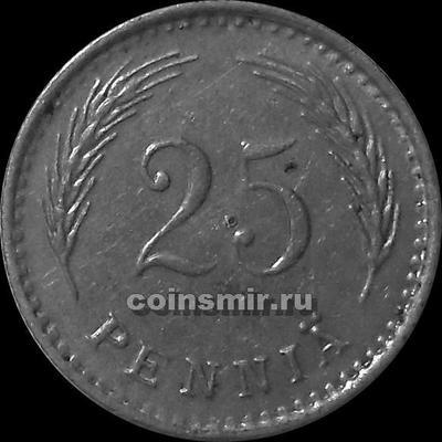 25 пенни 1921 Н  Финляндия.