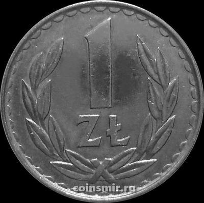 1 злотый 1983 Польша.