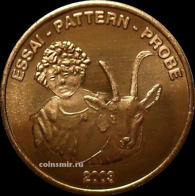 5 евроцентов 2003 Швейцария. Европроба. Ceros.