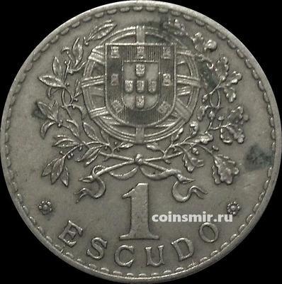1 эскудо 1928 Португалия.