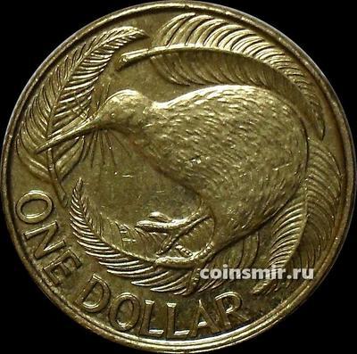 1 доллар 2013 Новая Зеландия. Птица киви.
