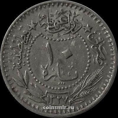 10 пара 1911 (1327/3) Турция.