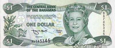 1 доллара 1996 Багамские острова.