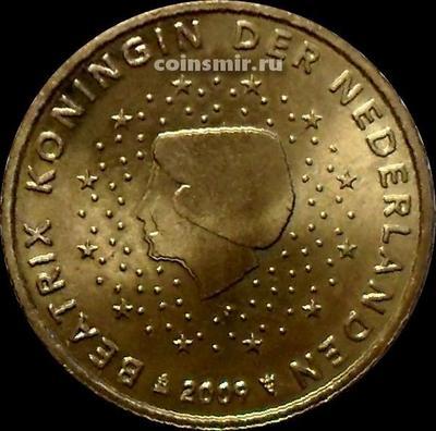 10 евроцентов 2009 Нидерланды. Беатрикс.