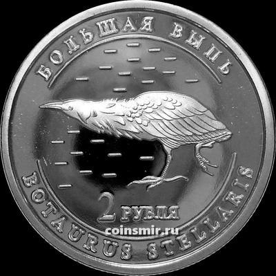 2 рубля 2013 Удмуртия. Большая выпь.