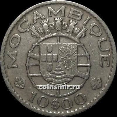 10 эскудо 1970 Португальский Мозамбик.