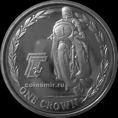 1 крона 2005 остров Мэн. Мотогонки ТТ.(2)
