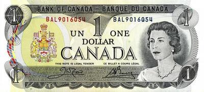 1 доллар 1973 Канада.