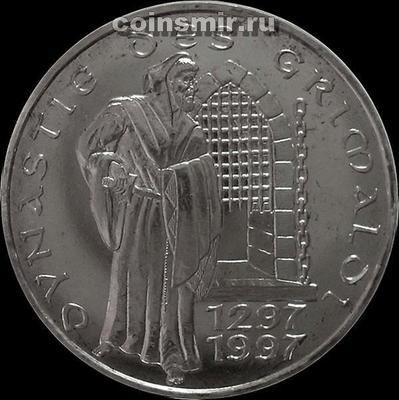 100 франков 1997 Монако. 700 лет династии Гримальди.