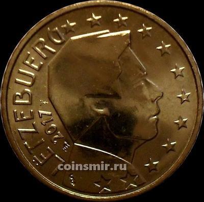 50 евроцентов 2017 Люксембург. Великий герцог Люксембурга Анри.