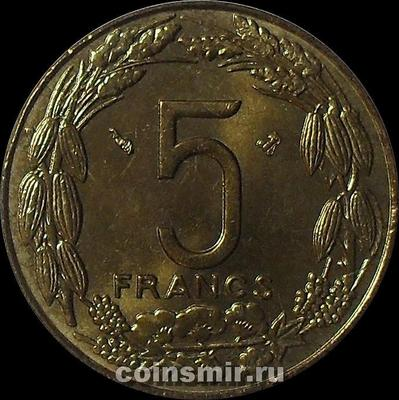 5 франков 1998 Центральная Африка.