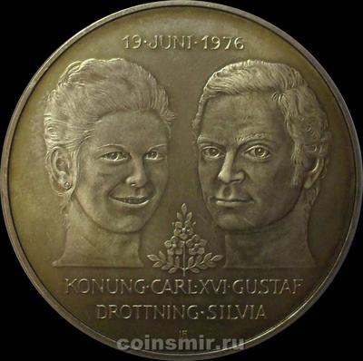 50 крон 1976 Швеция. Свадьба.